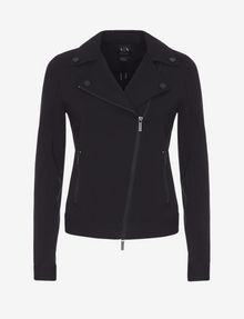 ARMANI EXCHANGE PONTE MOTO JACKET Jacke Damen r