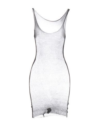 BASE レディース ひざ丈ワンピース ブラック 44 コットン 100%