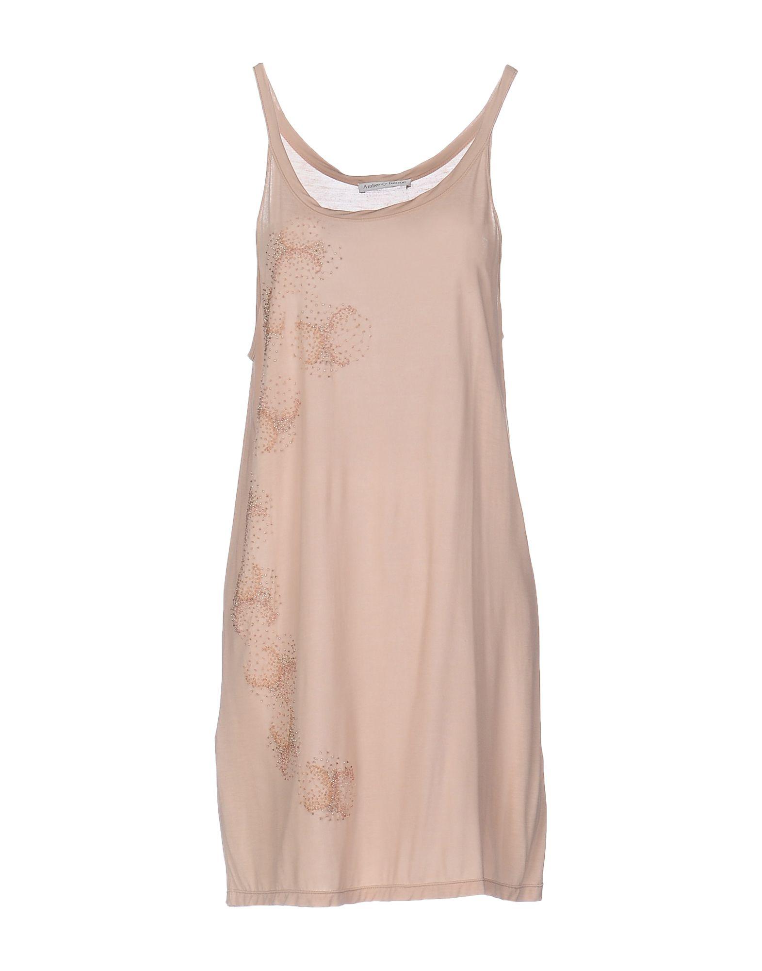 AMBRE BABZOE Короткое платье цены онлайн
