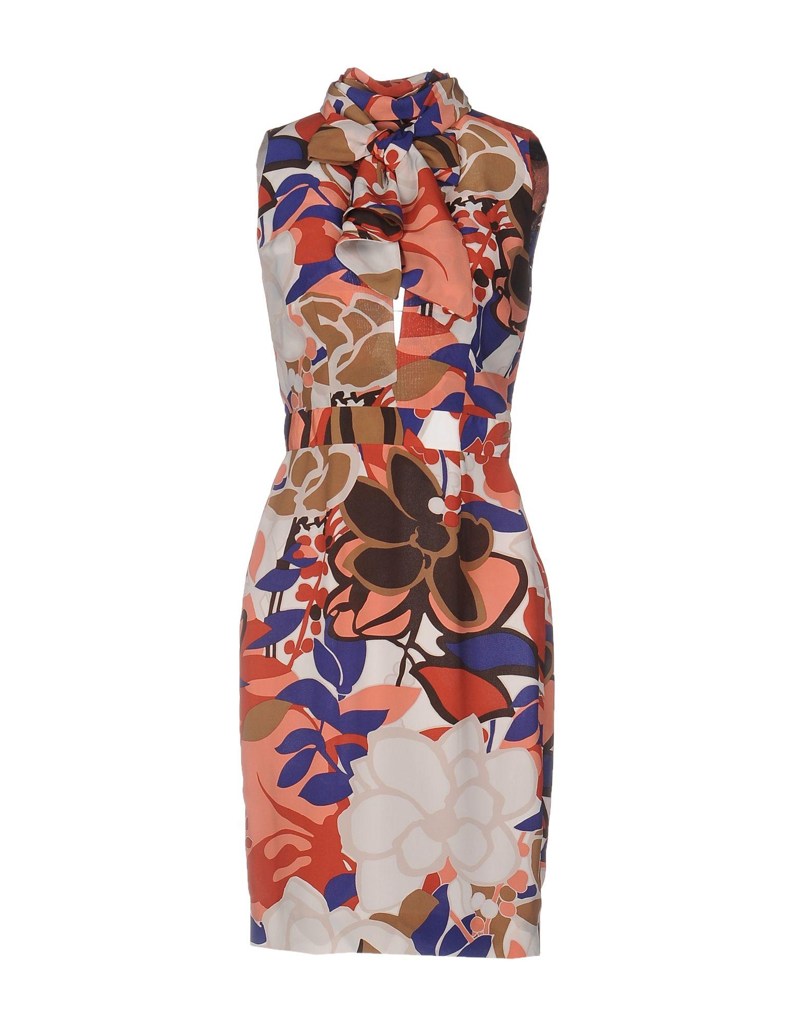 DSQUARED2 Короткое платье makoday шерстяное платье футляр
