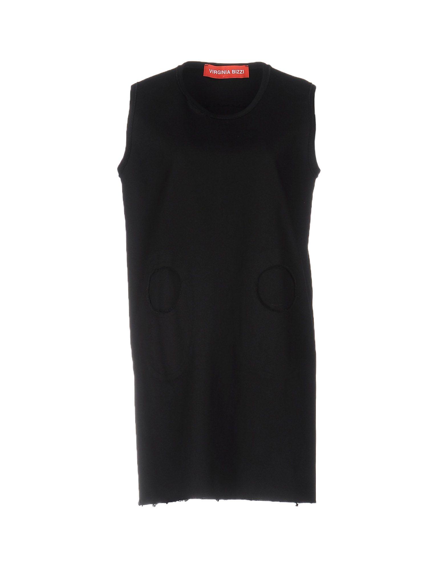 VIRGINIA BIZZI Короткое платье цена и фото