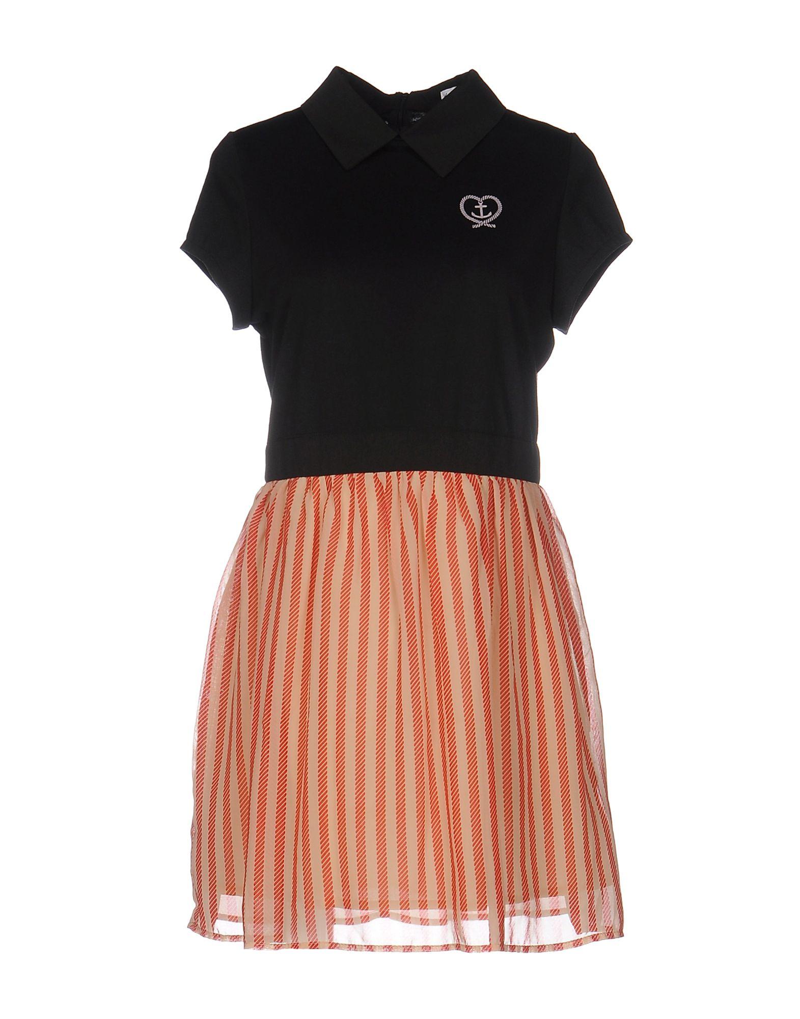 KLING Короткое платье цены онлайн