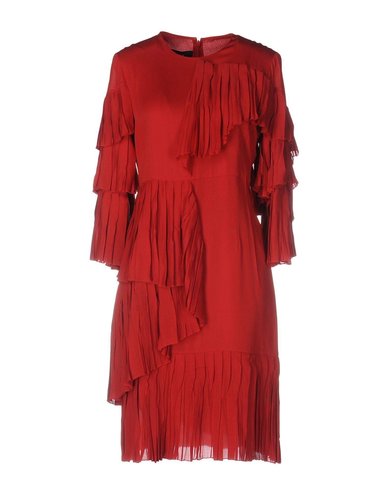 GUCCI Damen Kurzes Kleid Farbe Rot Größe 4