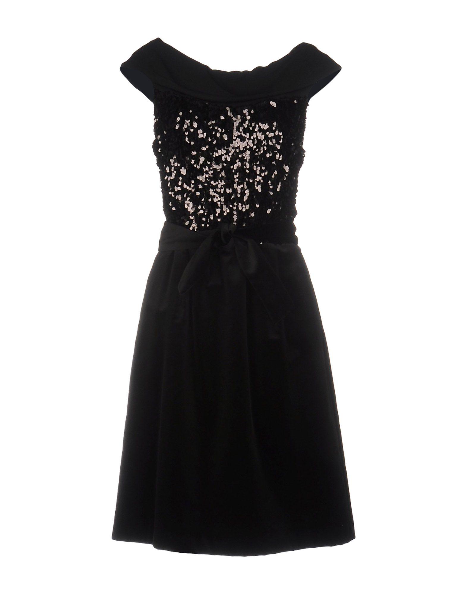 цена FABRIZIO LENZI NOIRE Платье до колена онлайн в 2017 году