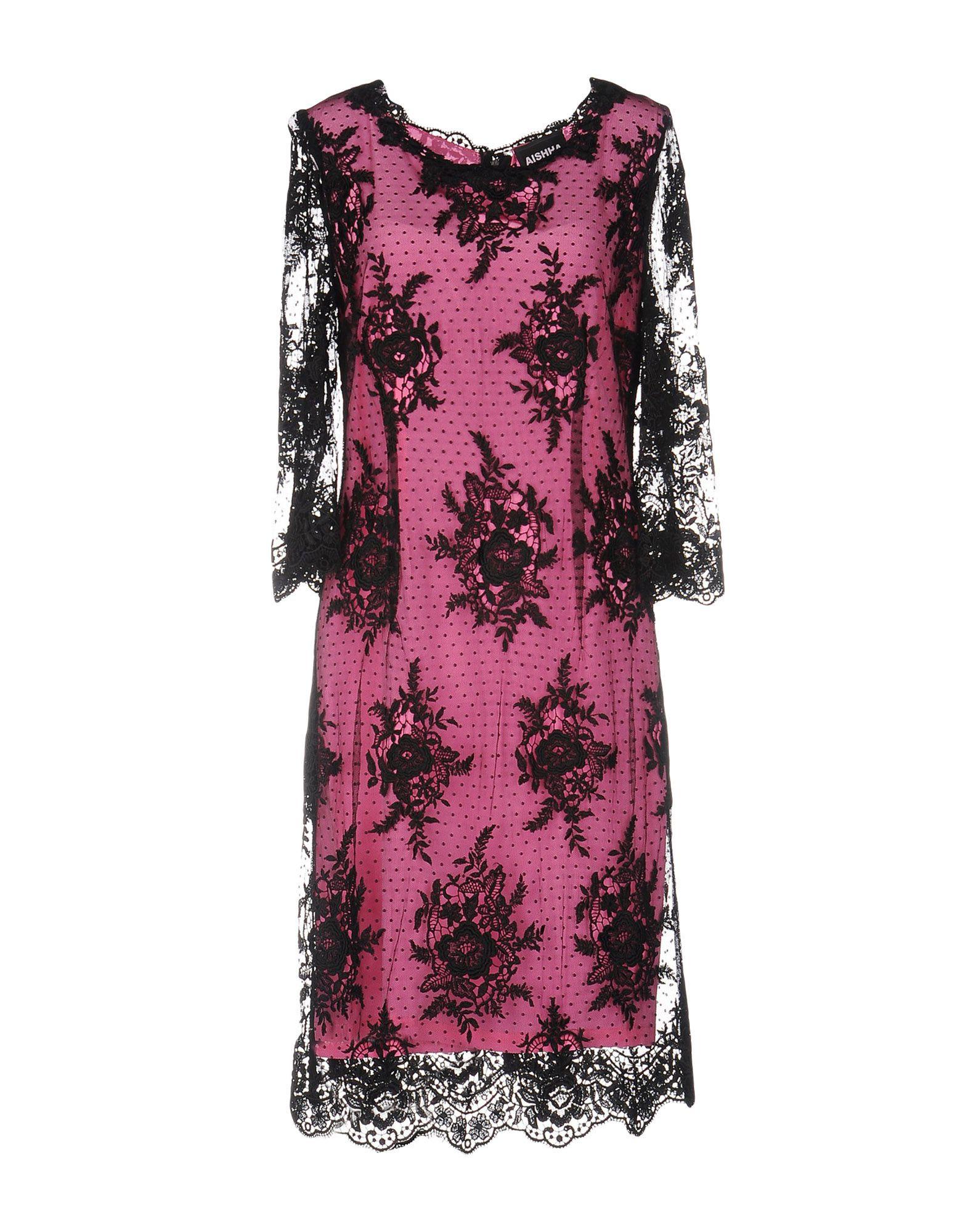 цена AISHHA Платье до колена онлайн в 2017 году