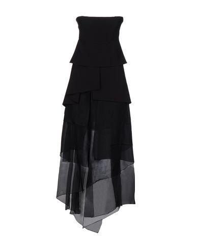 Купить Женское длинное платье HH COUTURE черного цвета