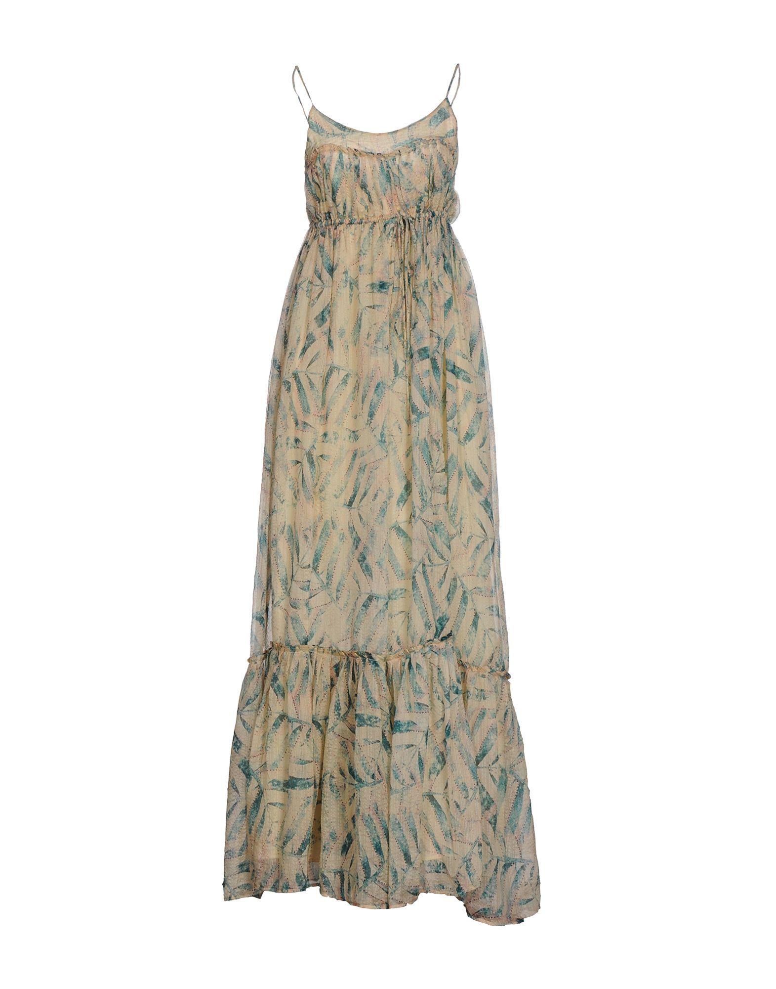 AMBRE BABZOE Длинное платье цены онлайн