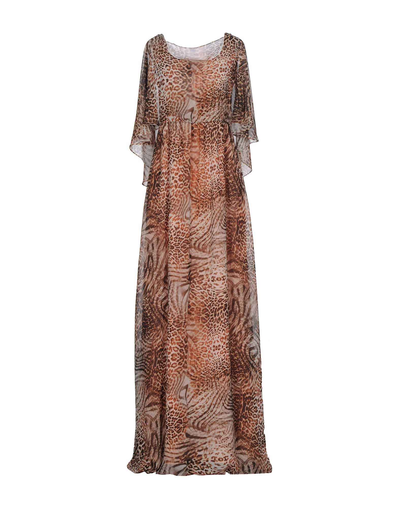 LES COCKTAILS DE LIU •JO Damen Langes Kleid Farbe Braun Größe 3