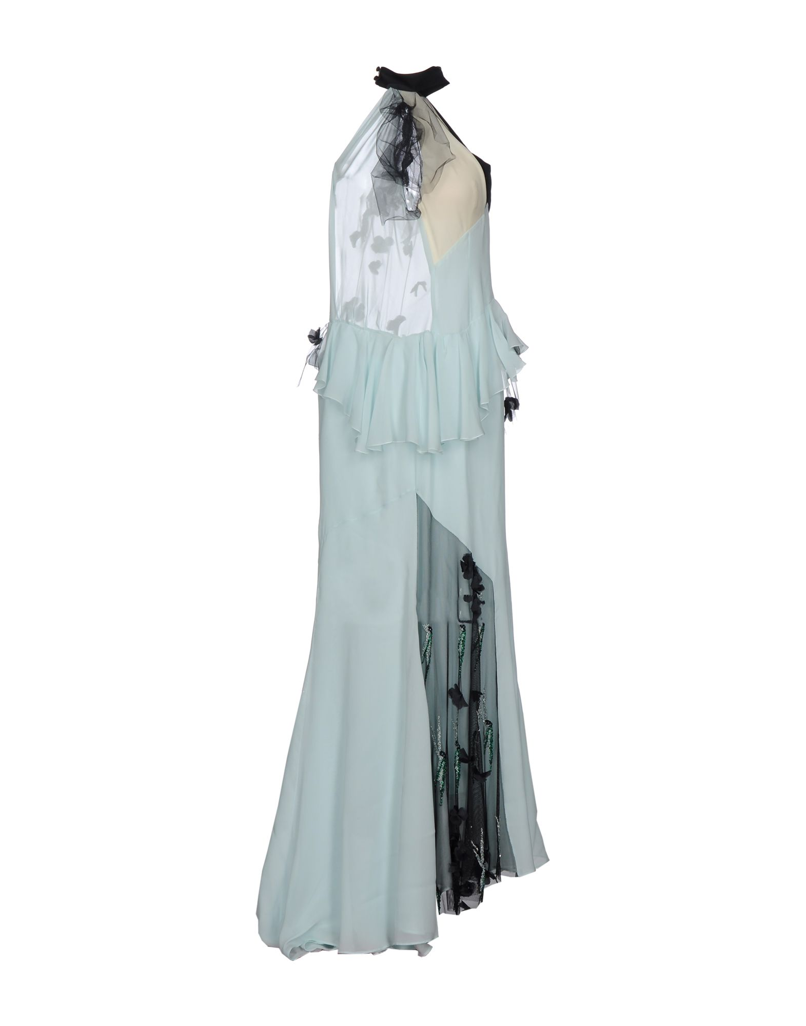 DANIELE CARLOTTA Long Dress in Light Green