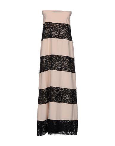 JUCCA Длинное платье платье длинное в полоску