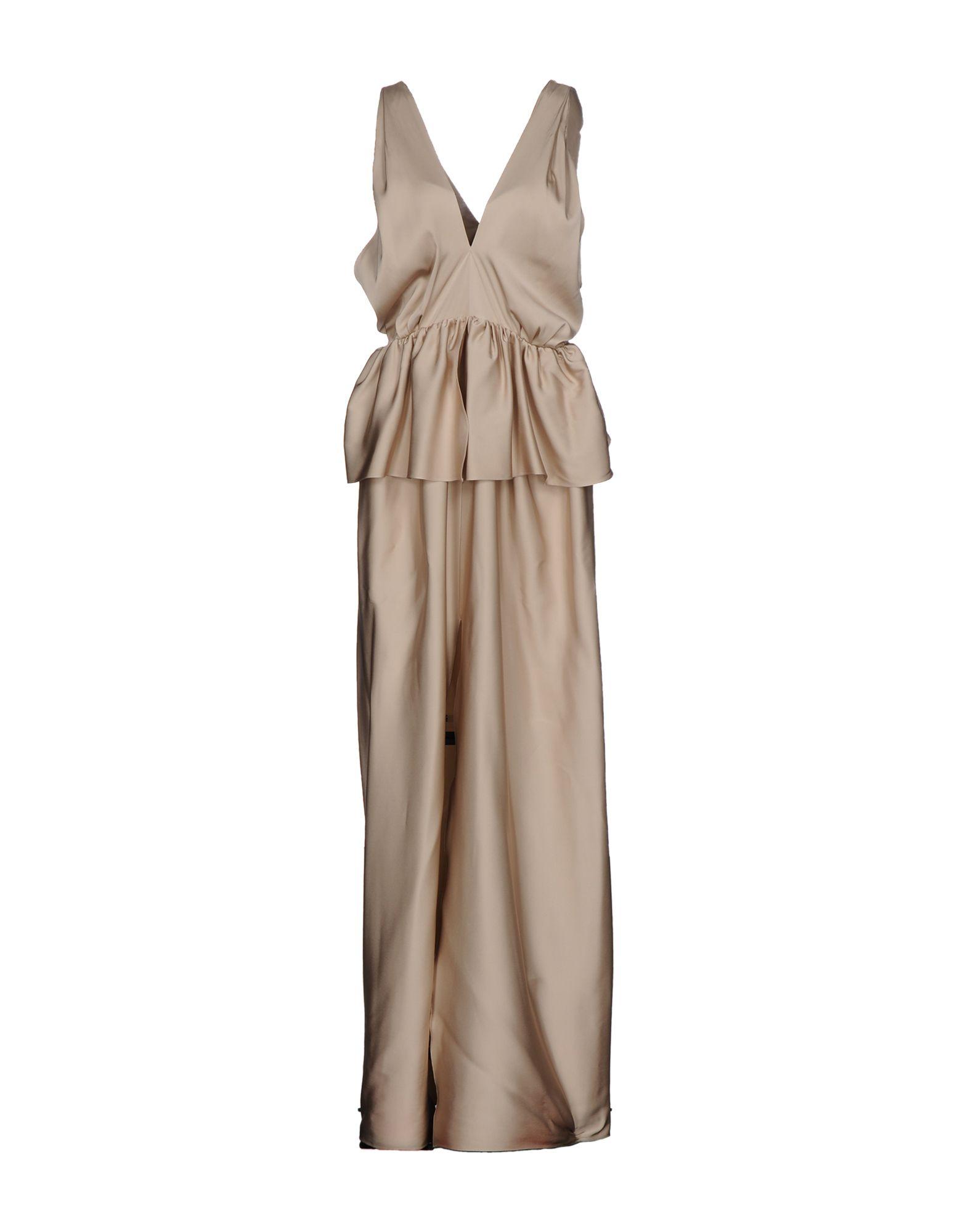 MAISON RABIH KAYROUZ Длинное платье платье короткое спереди длинное сзади летнее