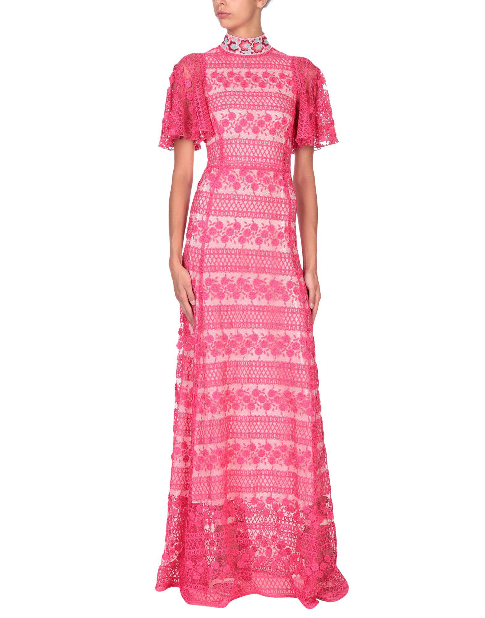 GIAMBA Длинное платье обрезка буквенных патчей многоцветная вышивка кружева аппликация diy аксессуар