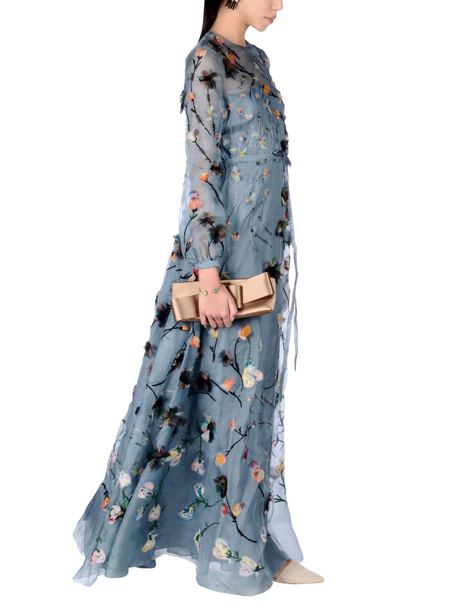 VALENTINO Длинное платье oz10 длинное платье