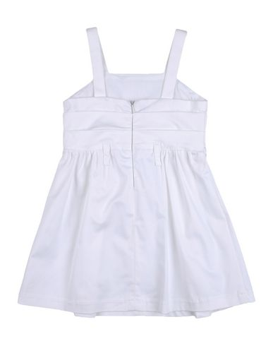 PATRIZIA PEPE Baby Kleid Weiß Größe 24 96% Baumwolle 4% Elastan