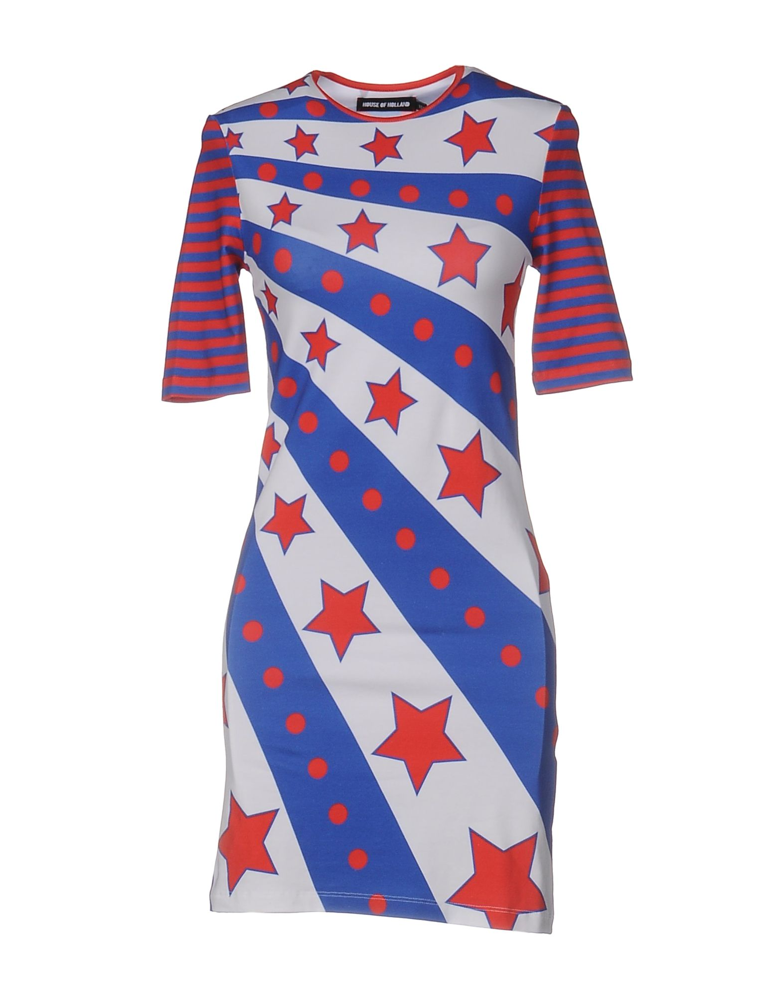 где купить HOUSE OF HOLLAND Короткое платье по лучшей цене