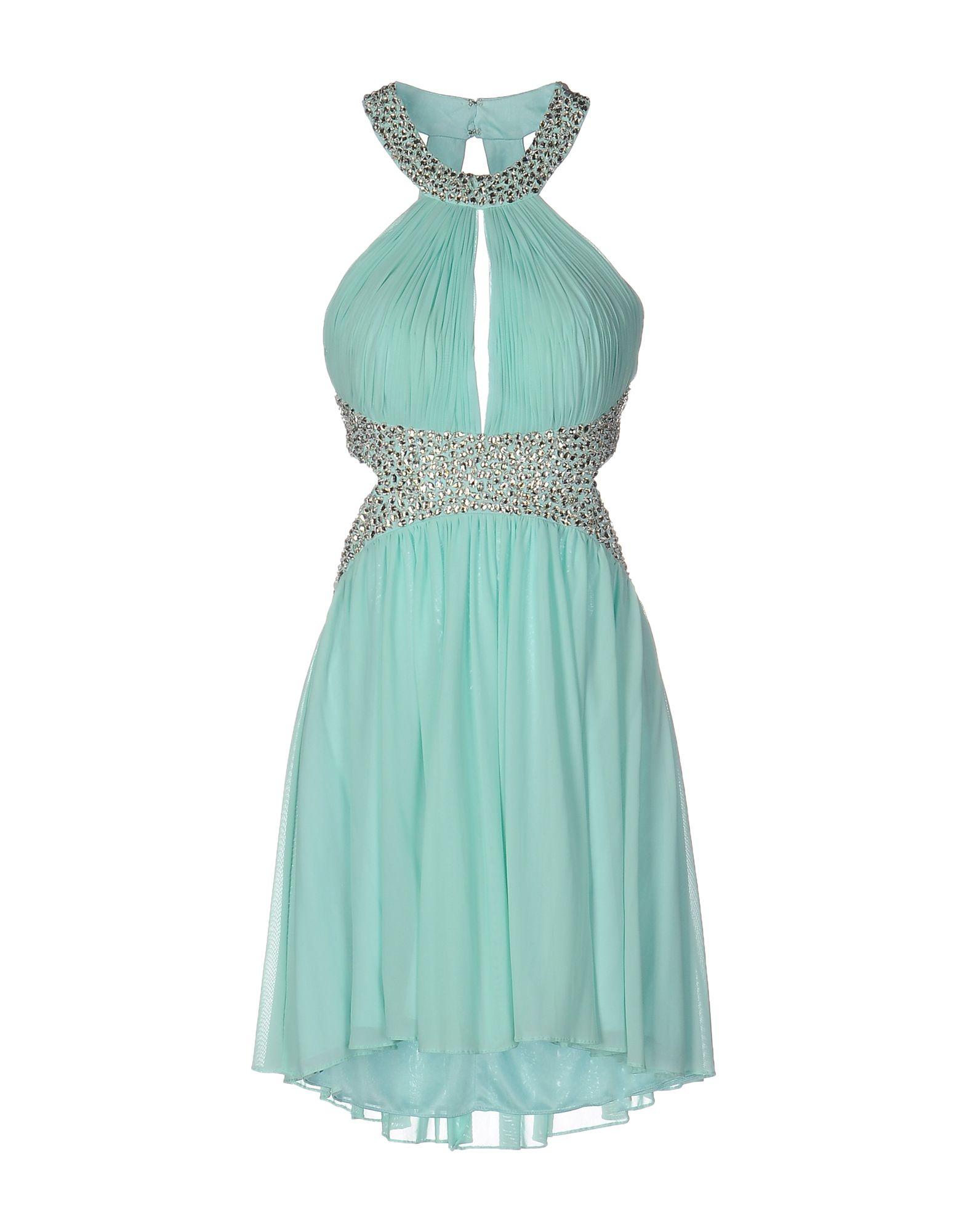 WANNA ROMANÒ Короткое платье цены онлайн