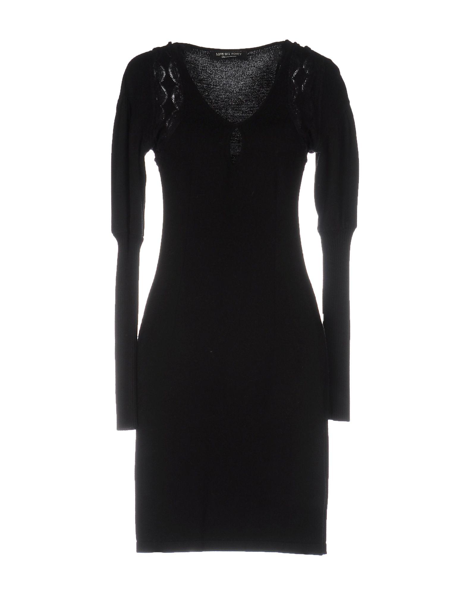 LOVE SEX MONEY Короткое платье недорго, оригинальная цена
