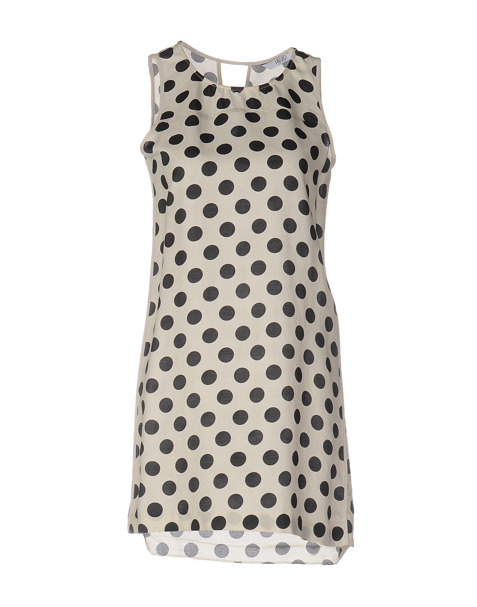 LIU •JO JEANS Короткое платье платье liu jo c17073t0945 90810