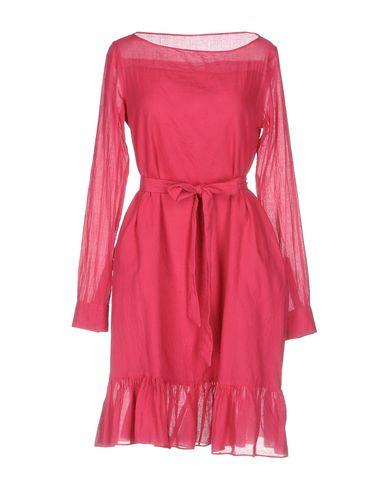Фото - Женское короткое платье ASPESI цвет пурпурный