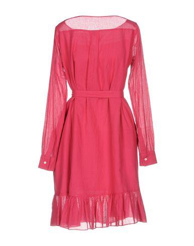 Фото 2 - Женское короткое платье ASPESI цвет пурпурный