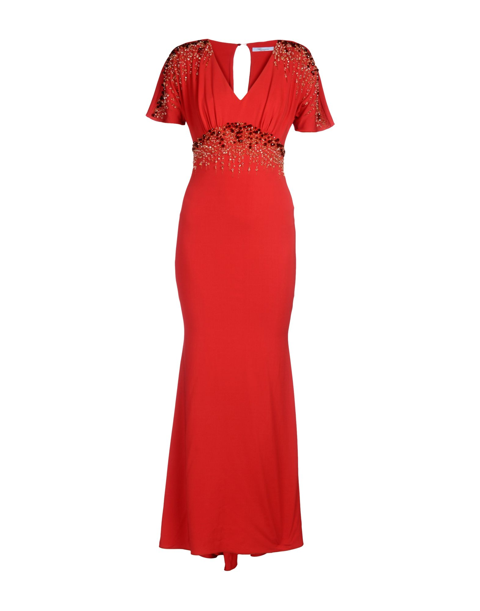 BLUMARINE Длинное платье julia jentzsch длинное платье