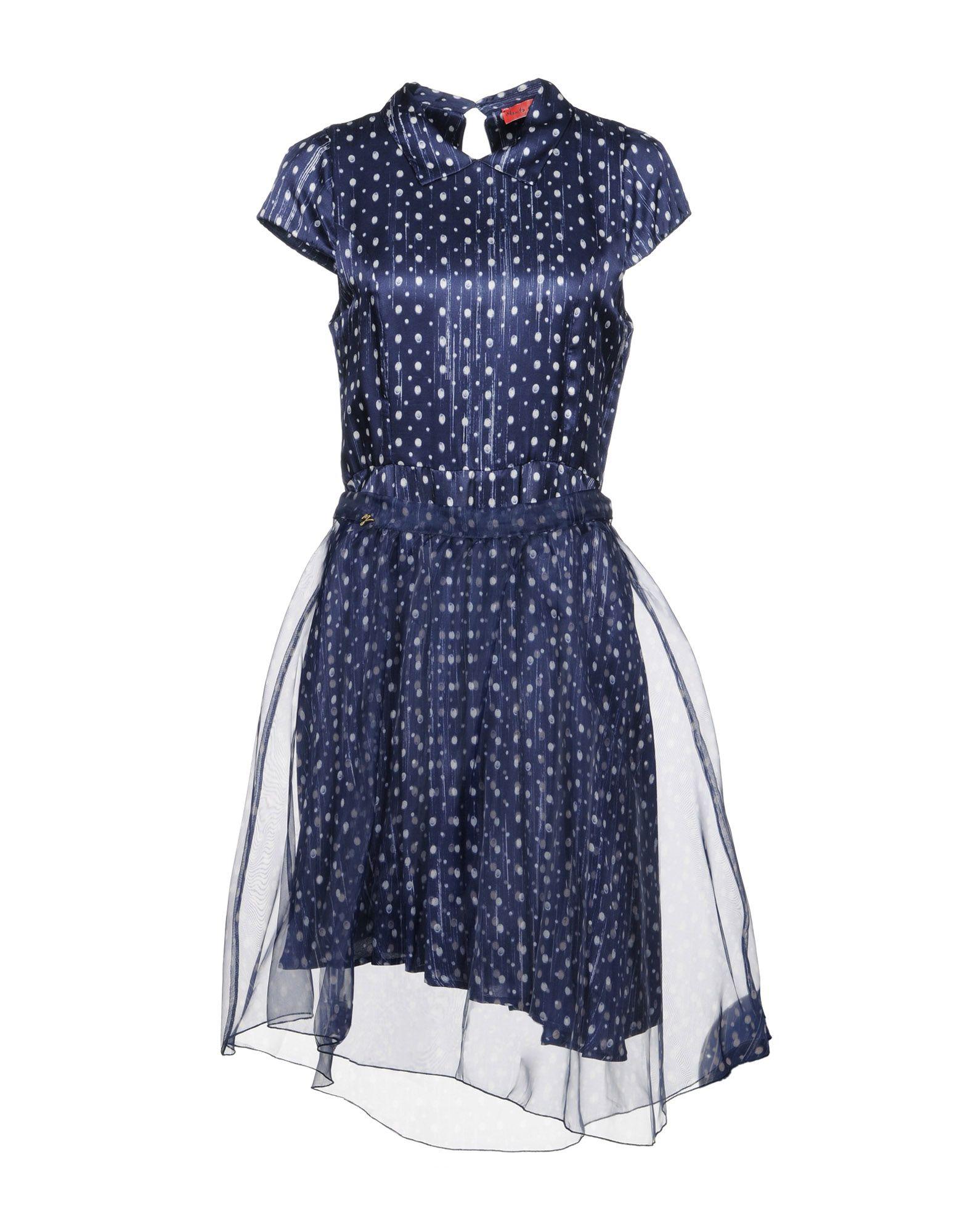 MANILA GRACE DENIM Платье до колена