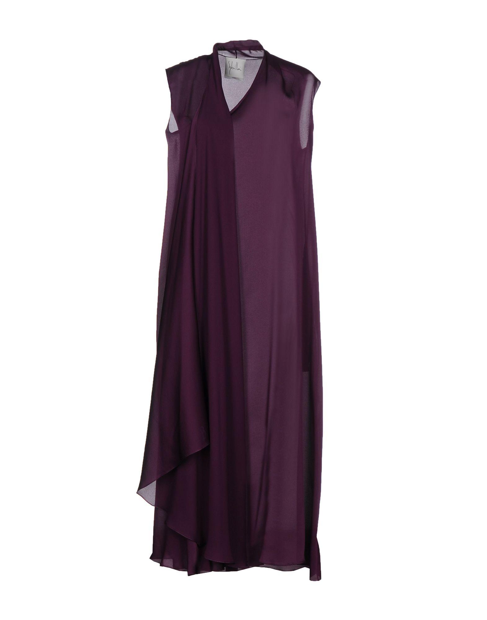 SYBILLA Платье длиной 3/4 lisa corti платье длиной 3 4