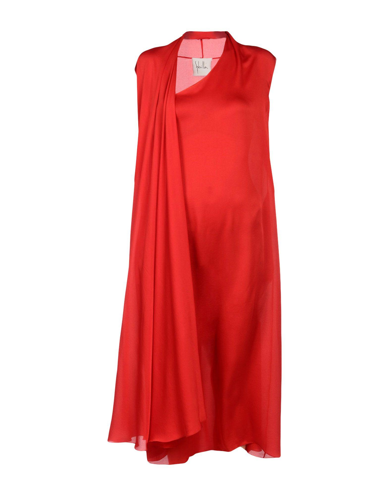 SHILLA Платье длиной 3/4 lisa corti платье длиной 3 4