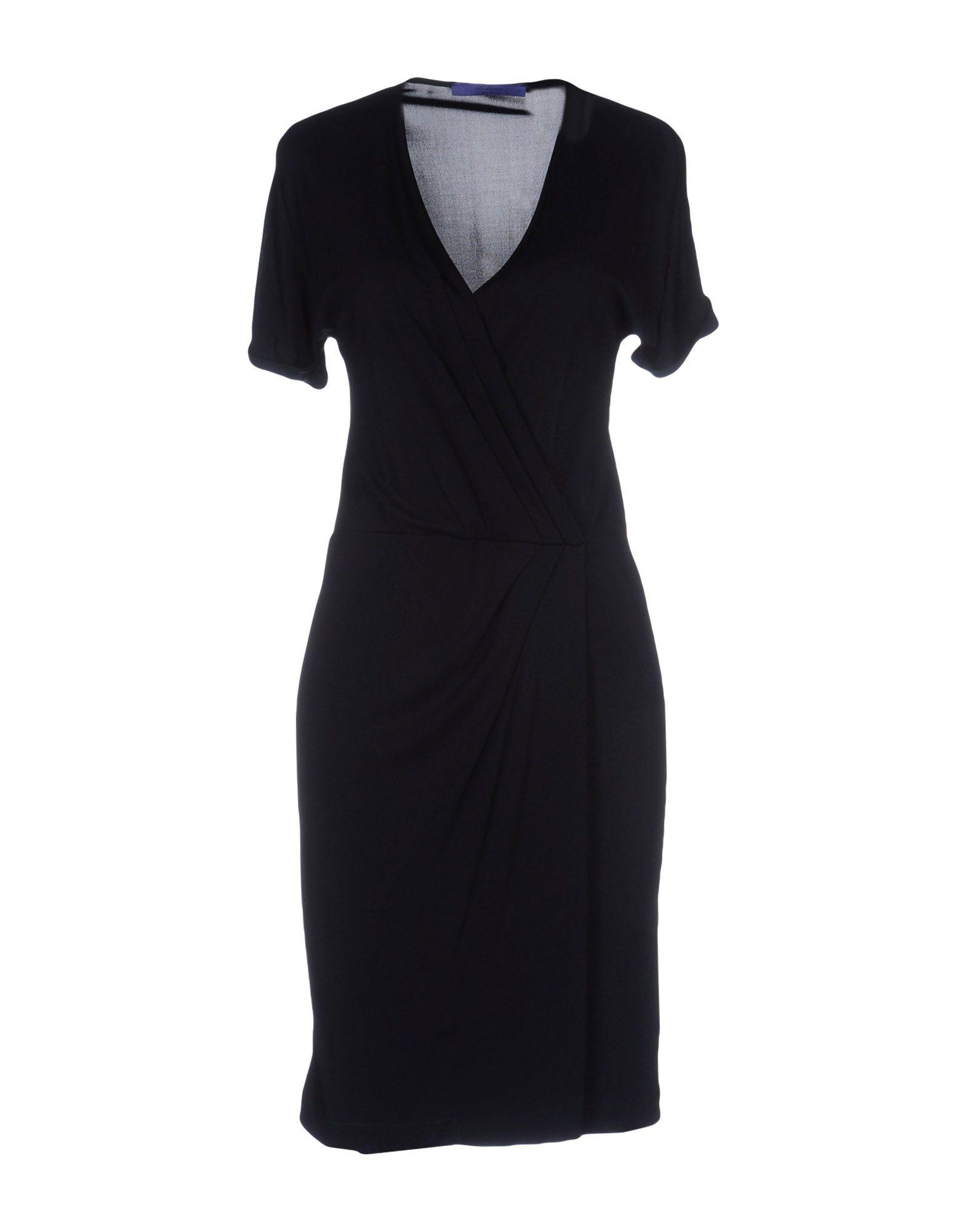 цена BLUE LES COPAINS Короткое платье онлайн в 2017 году