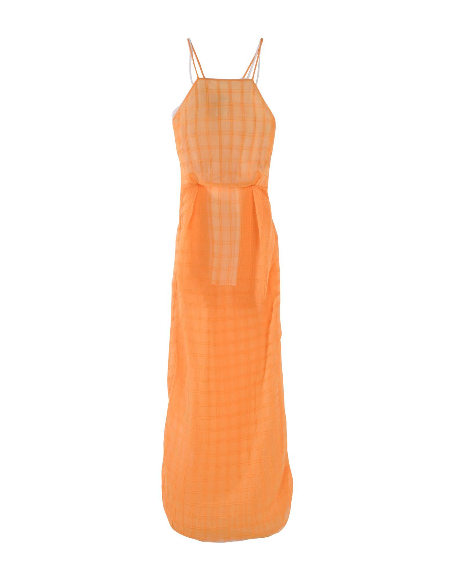 MSGM Длинное платье msgm одежда