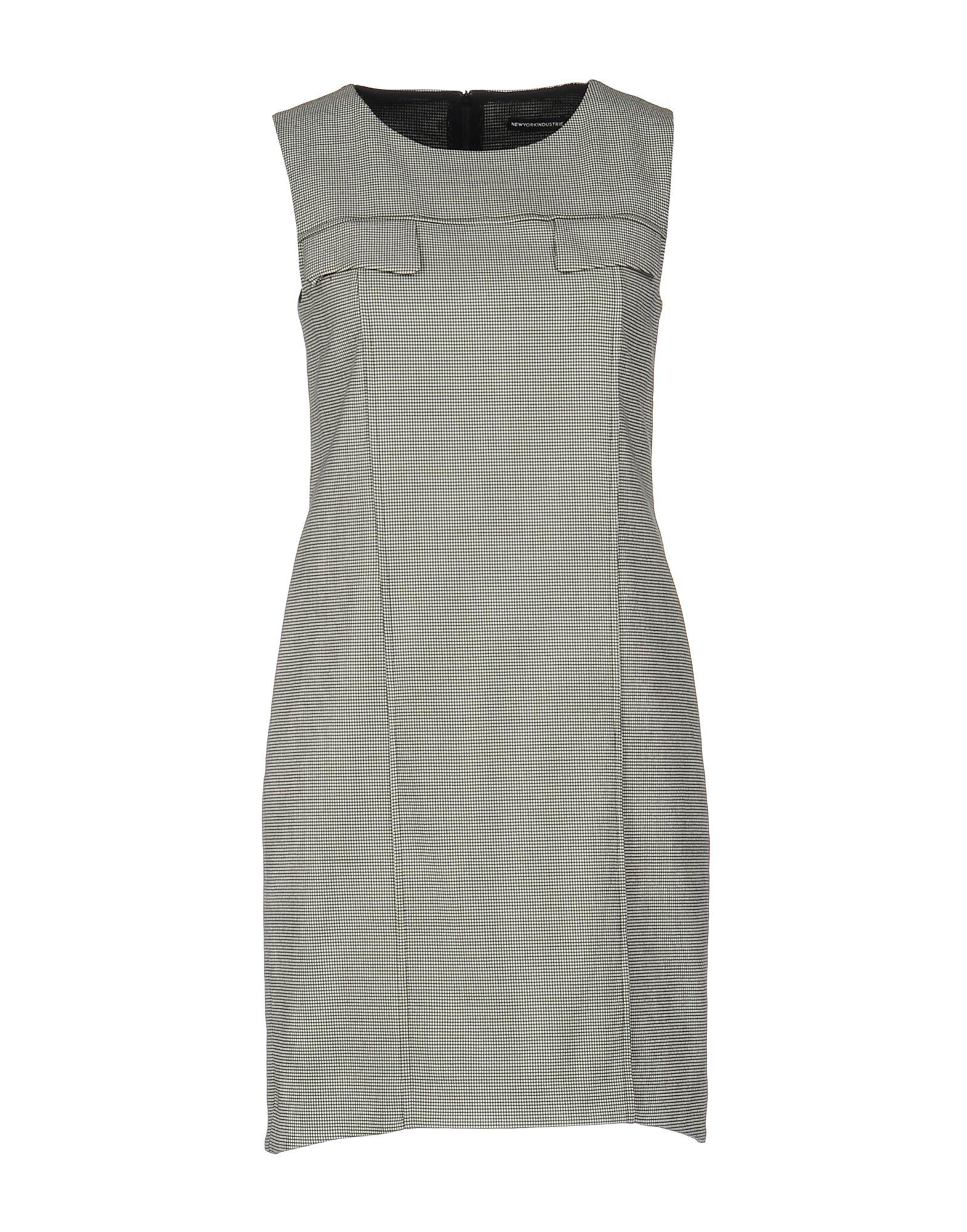 NEW YORK INDUSTRIE Короткое платье york мыльница transparent york