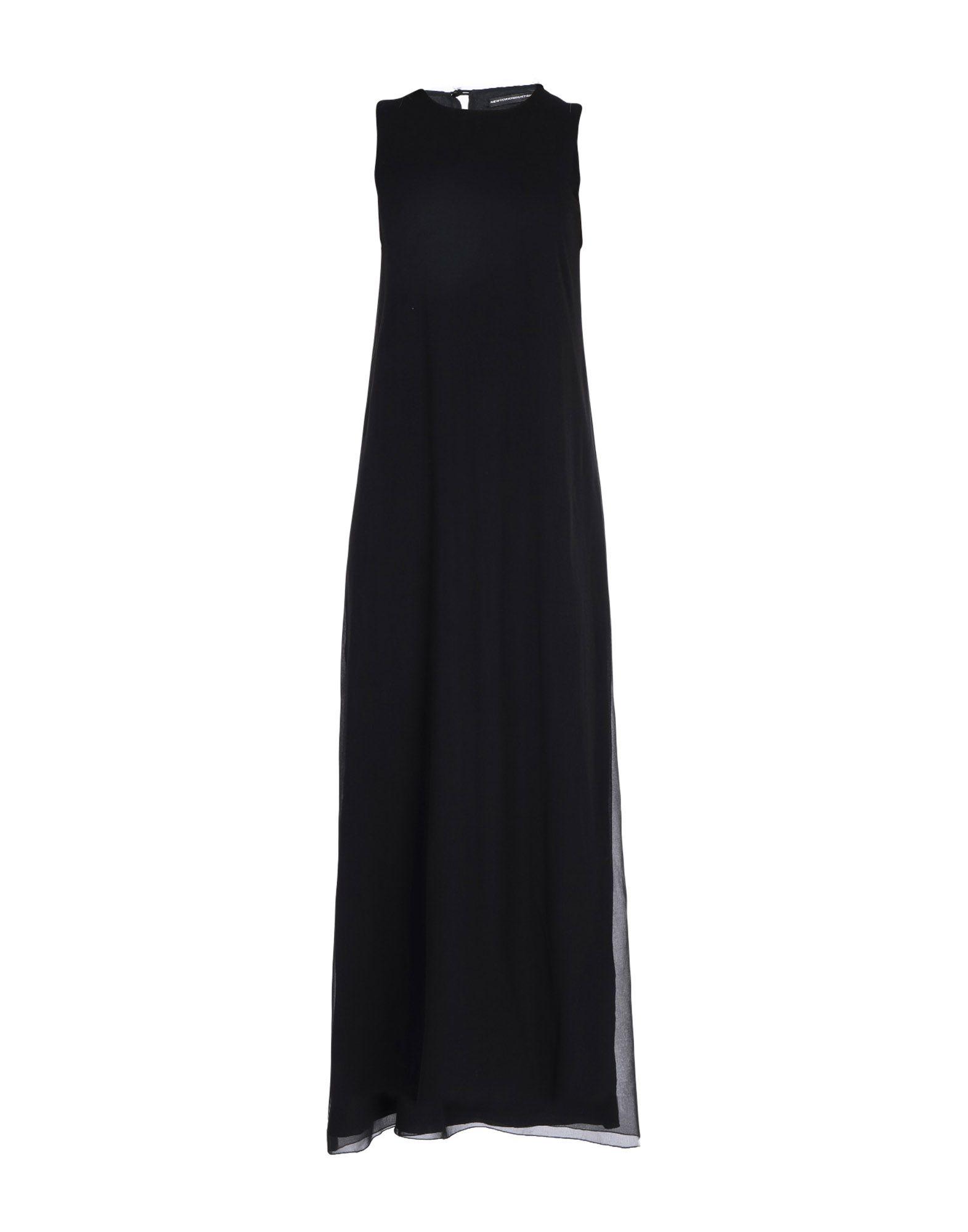 NEW YORK INDUSTRIE Длинное платье new york industrie платье длиной 3 4