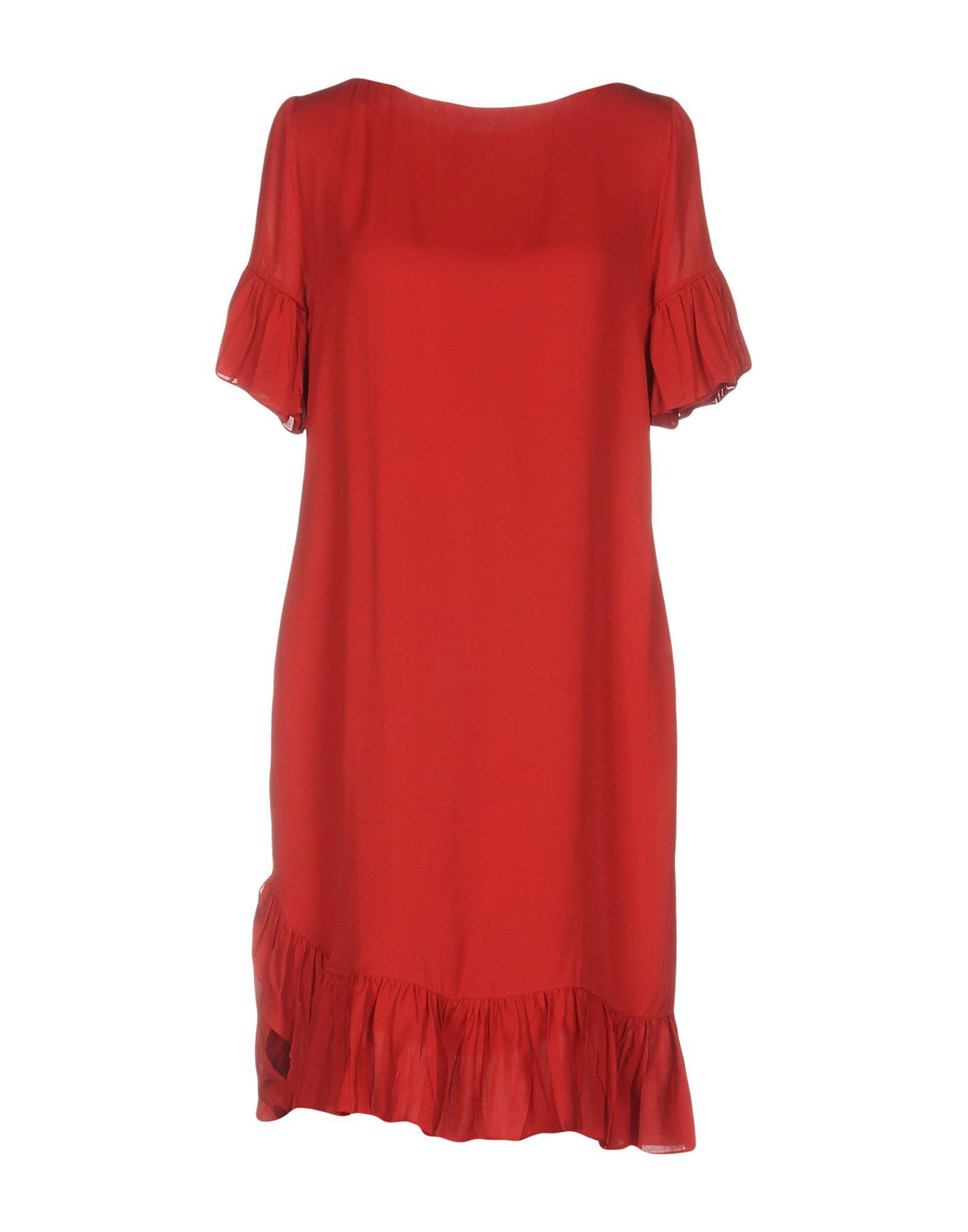 GUCCI Короткое платье gucci шерстяное платье