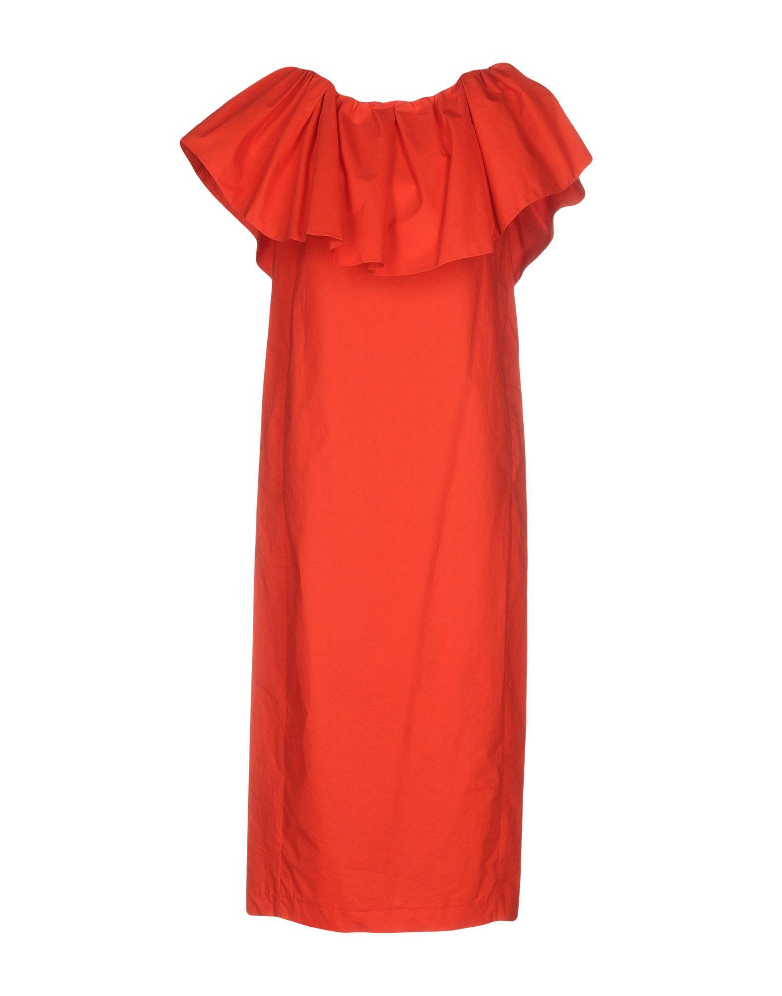 TELA Платье длиной 3/4 lisa corti платье длиной 3 4