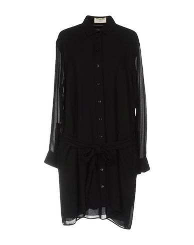 SAINT LAURENT Короткое платье saint laurent ремень