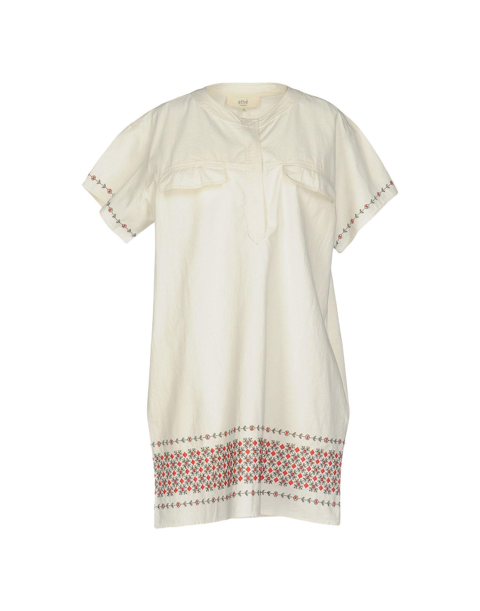 VANESSA BRUNO ATHE' Короткое платье vanessa bruno короткое платье