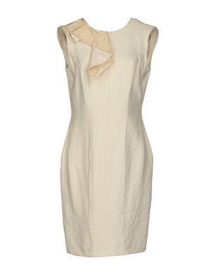 SILVIO BETTERELLI Damen Kurzes Kleid Farbe Beige Größe 5 Sale Angebote
