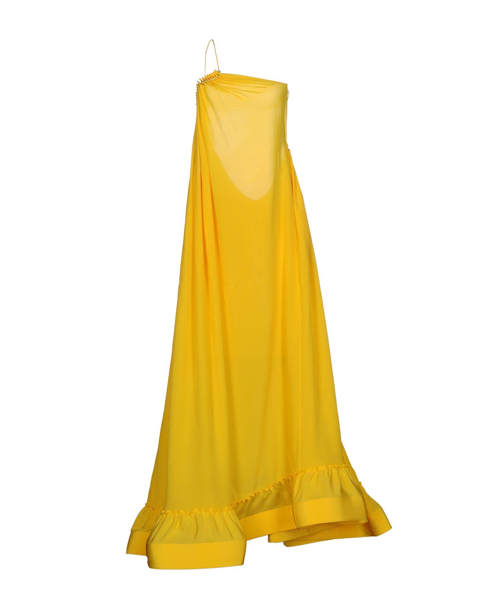 STELLA McCARTNEY Damen Langes Kleid Farbe Gelb Größe 3