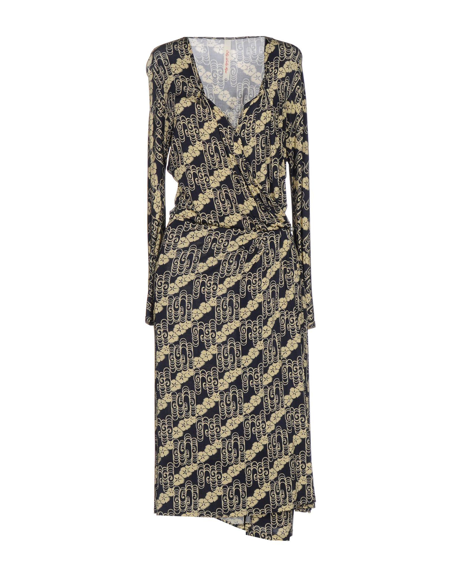 ELLY WALLY PAPER Платье до колена цена и фото