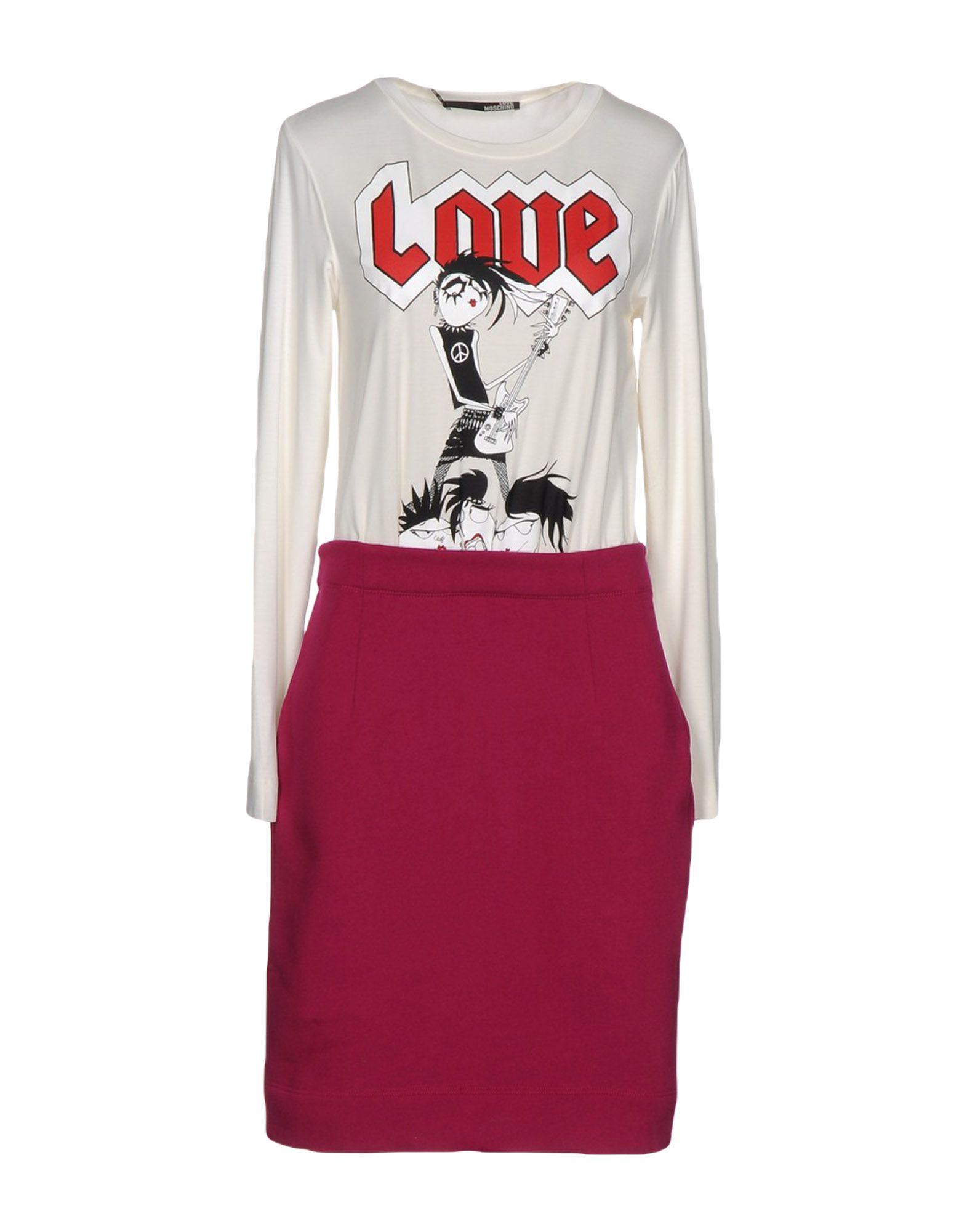 LOVE MOSCHINO Платье до колена
