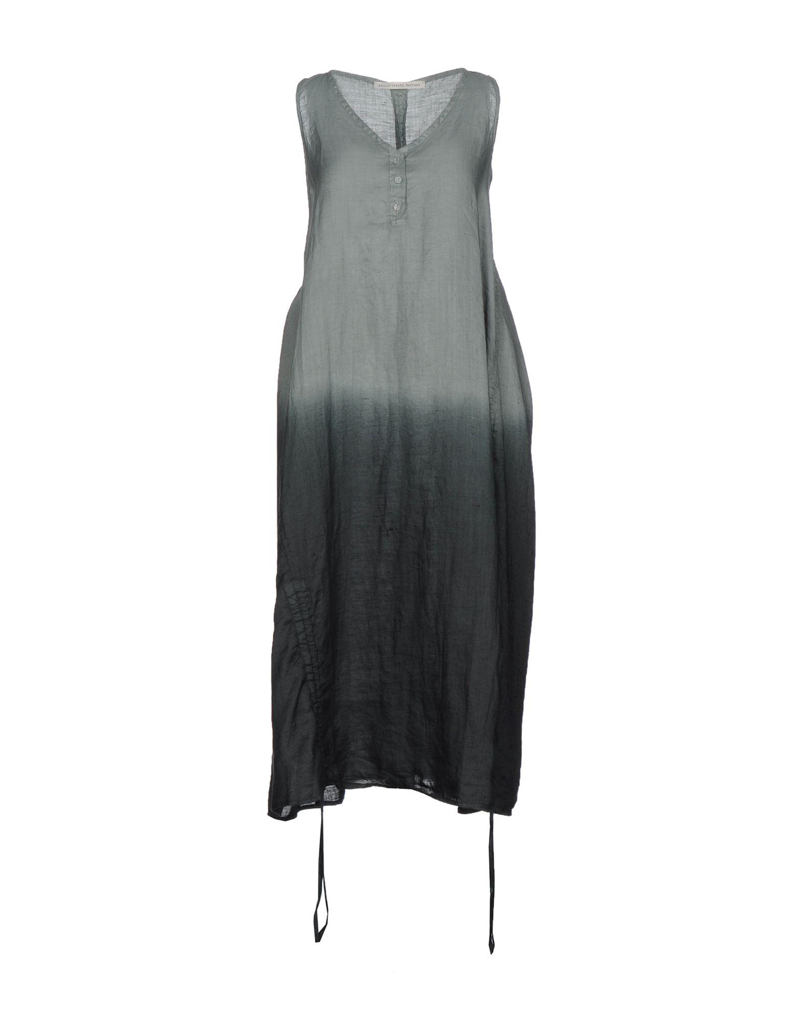 NICOLO' CESCHI BERRINI Платье длиной 3/4 nicolo ceschi berrini рубашка с длинными рукавами