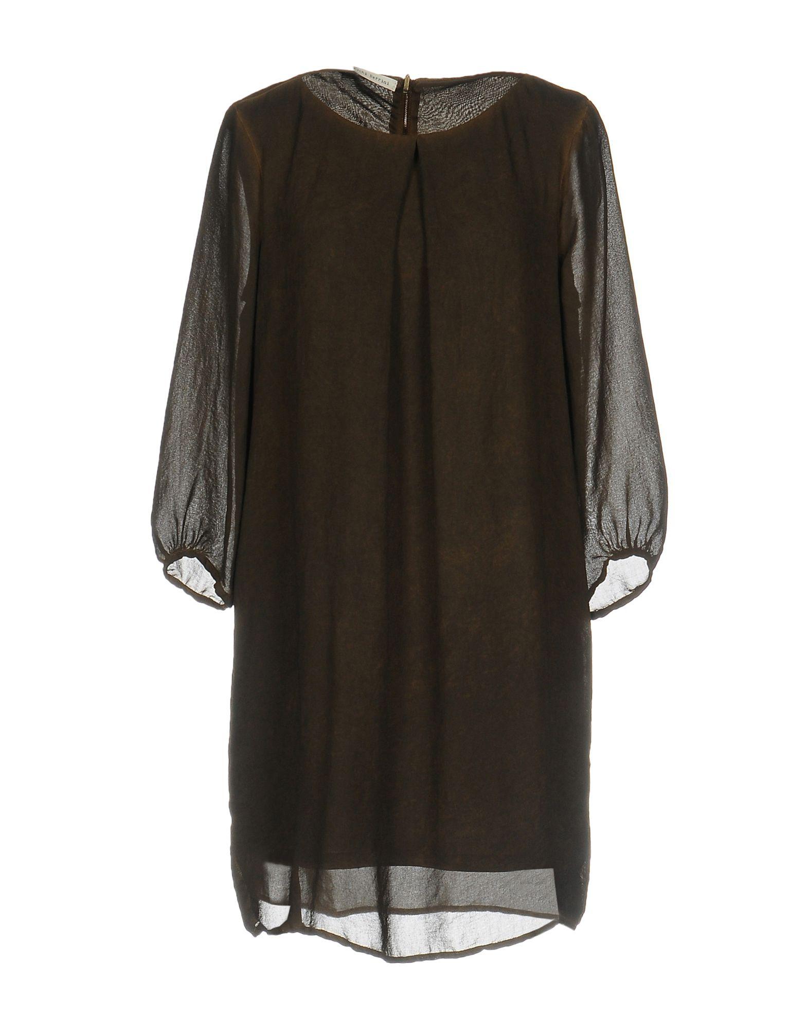 NICOLO' CESCHI BERRINI Короткое платье nicolo ceschi berrini рубашка с длинными рукавами