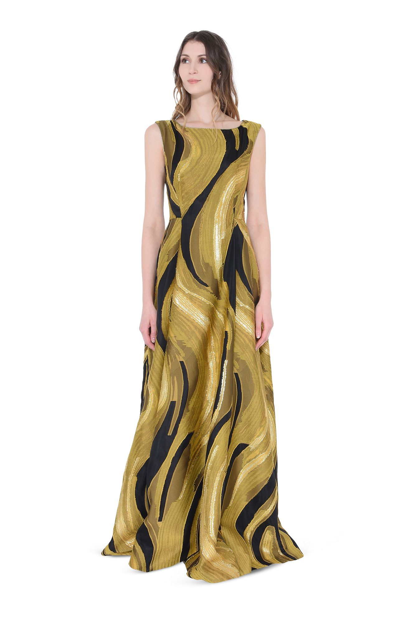 GOLD WAVES-DRESS