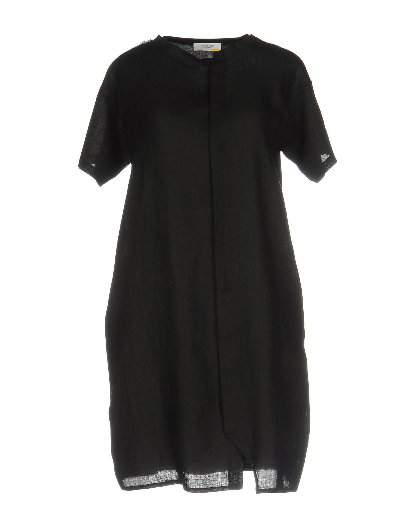 MANOSTORTI Короткое платье manostorti платье до колена