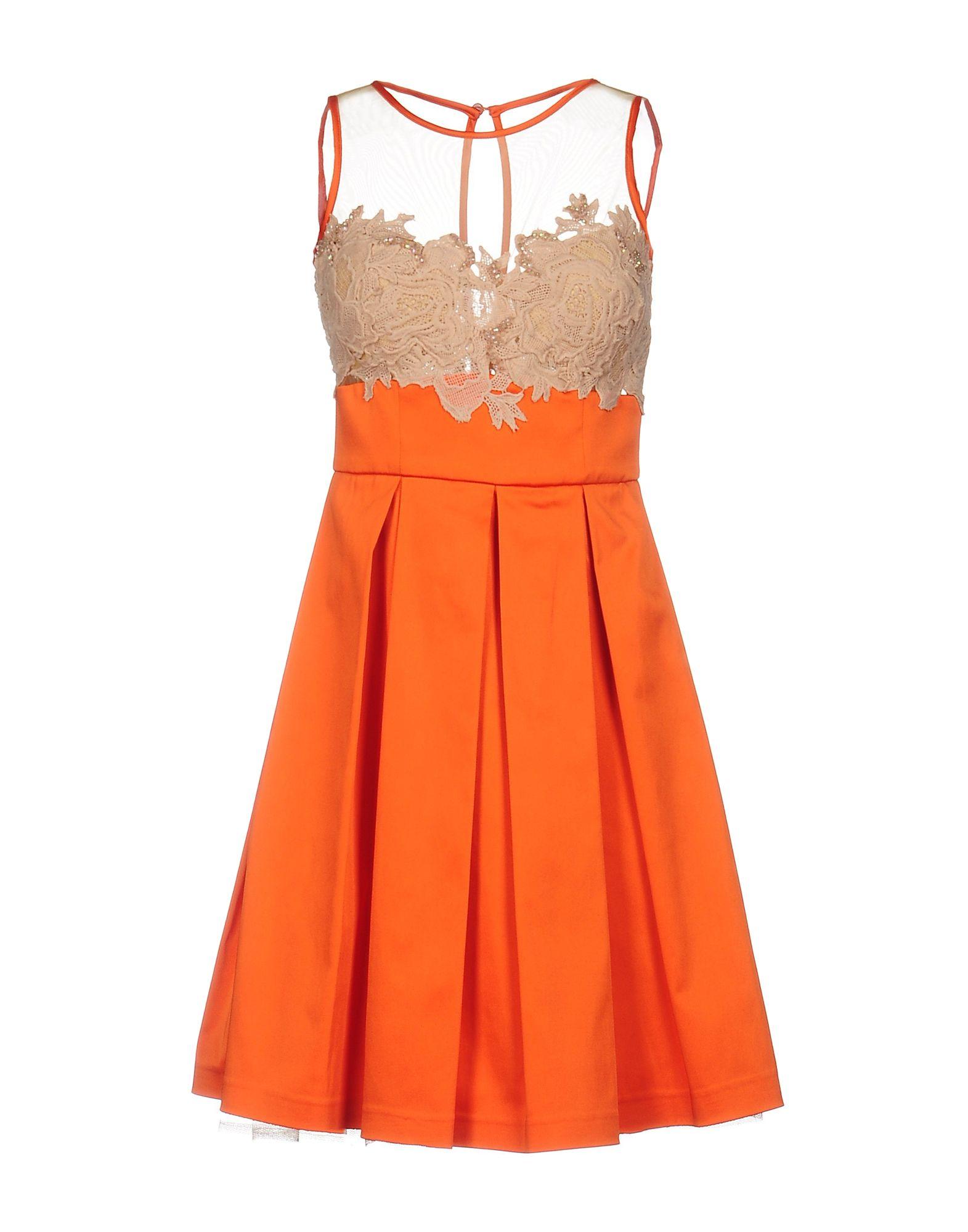MAESTRI Короткое платье maestri длинное платье