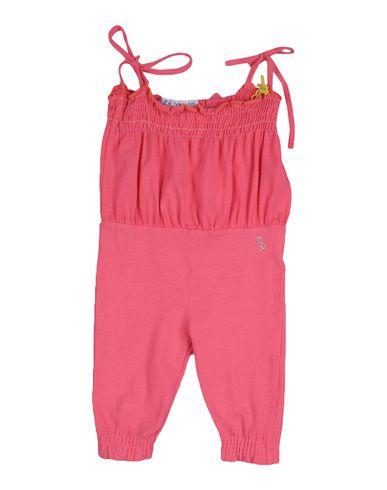 PATRIZIA PEPE Baby OVERALL Fuchsia Größe 6 92% Baumwolle 8% Elastan
