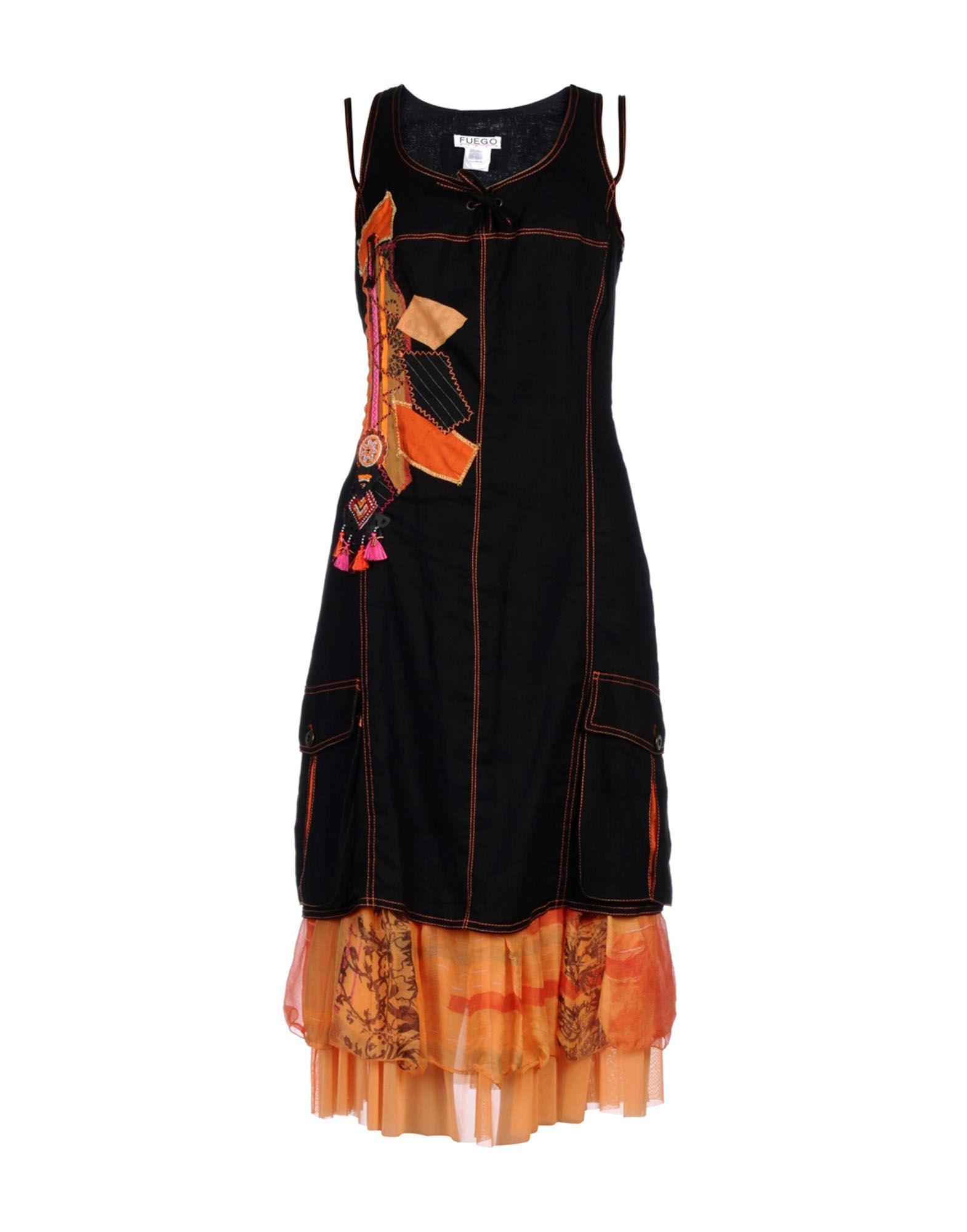 купить FUEGO WOMAN Платье длиной 3/4 недорого