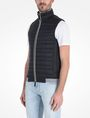 ARMANI EXCHANGE FUNNELNECK CHANNEL-QUILTED PUFFER VEST PUFFER JACKET Man d