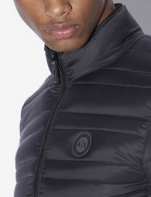 ARMANI EXCHANGE BICOLOR STAND COLLAR PUFFER PUFFER JACKET Man b