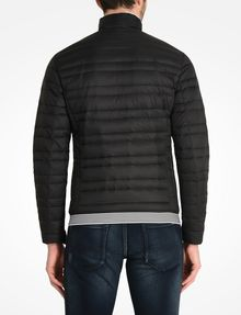 ARMANI EXCHANGE BICOLOR STAND COLLAR PUFFER PUFFER JACKET Man r